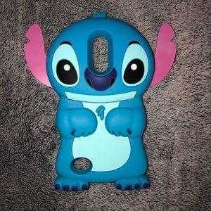 LG K20 Plus Silicon Stitch Phone Case